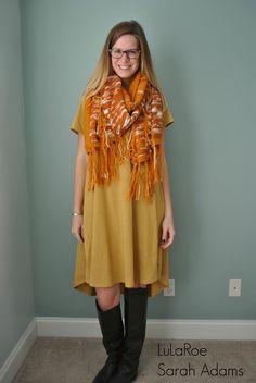 lularoe mimi as a scarf with the lularoe carly dress wwwshopallthelulacom