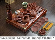Boutique yixing zisha tea set big tea pot tea cup saucer stand black tea sets #CupsSaucersPots