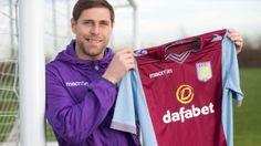 Aston Villa sign Grant Holt
