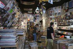 Rebel Rebel Record Shop Greenwich Village