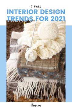 The design trends we're seeing for fall 2021 reflect more permanent changes we've made to our homes as a reaction to the pandemic. The central theme? Comfort, convenience and color. Here, find seven trends that designers predict will be huge for the upcoming season (and two that are to be avoided as we head into 2022). #fall #interiordesign #trends Fall Home Decor, Autumn Home, Color Trends, Design Trends, White Shaker Kitchen, Home Decor Trends, Decor Ideas, Beach Chairs, Furniture Sale