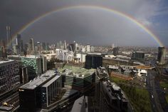 Rainbow shining over Melbourne mum's on Mother's Day.  Submitted by: Chris Miller  May 14, 2012