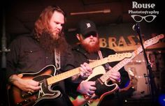 Whitey Morgan brought his brand of outlaw country music to the Brass Rail on a Tuesday night. The excitement was palpable in the club as fans came from Missouri, Illinois, and Ohio to take in the show.  As Whitey Morgan and the 78s took the stage, their rich, full sound, filled the small venue and