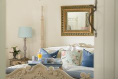 Sweetpea Cottage | Luxury Self-Catering | Kestle Mill, Cornwall Cottages And Bungalows, Beach Cottages, Southern Cottage, Crantock Beach, Beach Cottage Style, Modern Cottage, Shabby Chic Bedrooms, Cottage Interiors, Coastal Living
