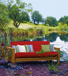 Outdoor Futon Covers from the US (what a good idea)