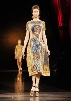 Dolce And Gabana Milan Fashion Week Spring 2013