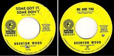 Brenton Wood / Some Got It, Some Don't (1968) / Double Shot 130 (Single, 45 rpm) #1960s