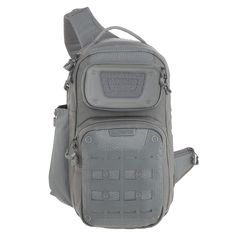 AGR™ Advanced Gear Research: GRIDFLUX™ Sling Pack The GRIDFLUX is a sling pack with a reinforced padded shoulder strap. The pack has two CCW compartments.