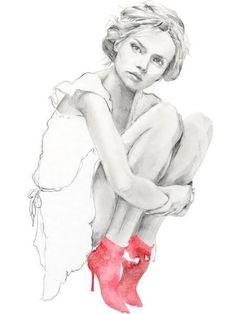 Fashion-иллюстрация Kelly Smith