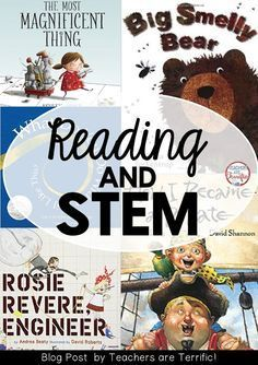 5 Books for STEM Activities You Can Do Today (in Grades 1-2)