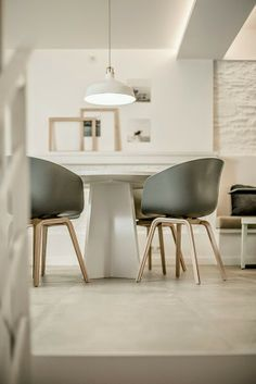 About a Chair chairs by Hay via The Design Chaser. Photo by Mireia Rodriguez.