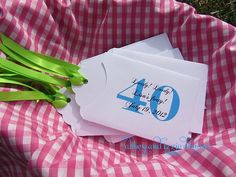40th Birthday Party Favors by abbeyandizziedesigns on Etsy