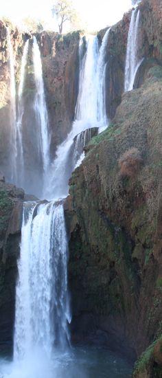 Ouzoud Wasserfall