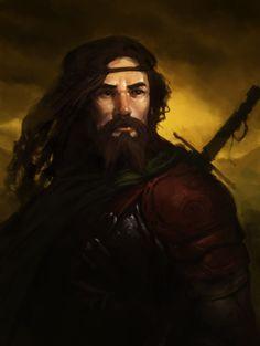 Fantasy Heroes, Fantasy Art Men, High Fantasy, Fantasy Warrior, Fantasy Rpg, Medieval Fantasy, Fantasy Characters, Fantasy Inspiration, Character Inspiration