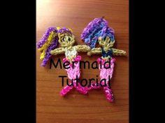 Mermaid / Ariel On a Single Rainbow Loom( MarloomZ Creations)