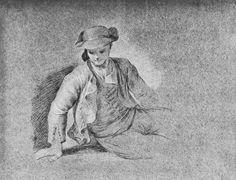 Goya y Lucientes, Francisco de: Sitzender Majo