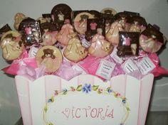 Chocolates para el nacimiento de Victoria