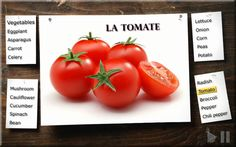 Learn French with Ouino: Les légumes (Vegetables)