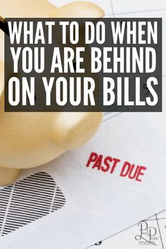 What You Can Do When You are Behind on Your Bills?  I have simple tips anyone can follow to help you get back on budget.