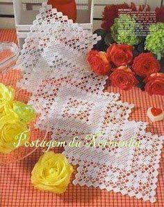 nice Free Crochet Table Runner Patterns Check more at http://www.knitttingcrochet.com/free-crochet-table-runner-patterns.html