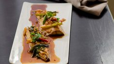 Caramelised mackerel recipe