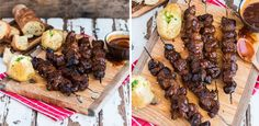 Monkey gland marinade RUMP steak kebabs ... Perfect for a summers day braai!
