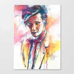 Eleven II Stretched Canvas by Alice X. Zhang - $85.00