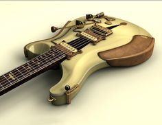 Steampunk Tendencies | Athena Kekenes - Guitar Retro & Steampunk www.vintageandrare.com