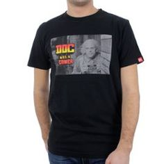 """Tee Shirt """"Doc was a gamer"""" de Julien Tellouck"""