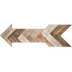 Herringbone Arrow Wood Wall Decor