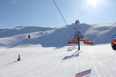 Skiing in Flachau, Austria - March 2012