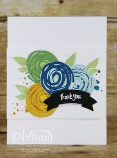 Swirly Bird, Stampin' up!