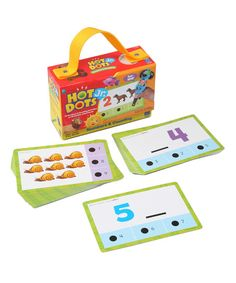 Numbers & Counting Hot Dots Jr. Card Set | zulily