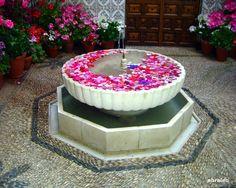 Patios 2012 - Pink fountain