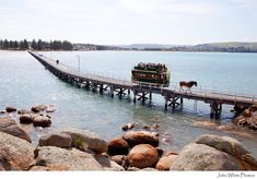 Victor Harbor cause way & horse tram to Granite Island. South Australia   https://flic.kr/p/ae8RxU