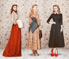 F/W 2011 collection from Russian designer Ulyana Sergeenko.