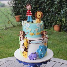 The design of the elephant, hippo, giraffe and monkey figures belongs to @lucristalbiscuit. #happy#birthday#ata#iyikidoğdun#doğumgünü#pasta#instacake#cakesofinstagram#cakestagram#animals#fondant#şekerhamuru#rengarenk#edibleart#1yearold#1#1yaş#cakeart#boycake#customcake#monkey#elephant#lion#cakedesign#cakedesigner#nofilter#narcity#pasticceria#nishadalar#fuaye