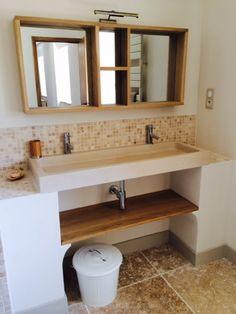 Salle de bain travertin : la beauté de la pierre de Tivoli | Salle ...