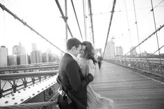 Katherine & Brett | Central Park & DUMBO Brooklyn, New York City Engagement » NYC Wedding Photography Blog