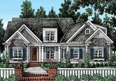 Springmill - Home Plans and House Plans by Frank Betz Associates #springmill #homeplans #frankbetz  #floorplans #capecod