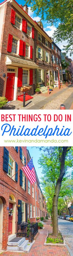 """""""Best Things to Do in Philadelphia"""". A couple things we probably wouldn't do, but overall a good list."""