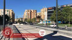 GRANADA | ZAIDIN | Paseo Emperador Carlos V con Andrés Segovia. Marquesina en obras del Metro. 2/2