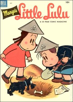 Little Lulu #61 - Published July 1953 by Dell/Gold Key.