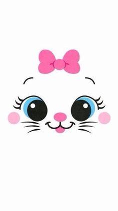 41 Ideas For Cats Cute Wallpaper Kawaii Iphone Wallpaper Kawaii, Kitty Wallpaper, Disney Wallpaper, Cartoon Wallpaper, Mobile Wallpaper, Wallpaper Backgrounds, Tangled Wallpaper, Aztec Wallpaper, Iphone Backgrounds