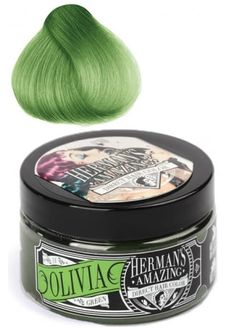 Herman's Amazing Direct Hair Color Olivia Green, £9.99