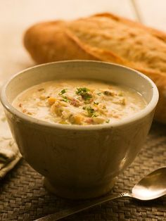 Maritime Clam Chowder- I don't really need to pin this since it's a local staple and well known, but I think other people need to see it  ;)