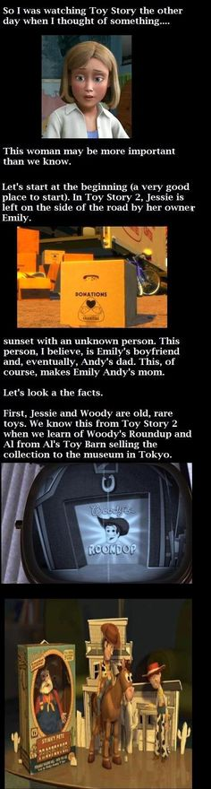Toy story revelation� Click to see the whole story