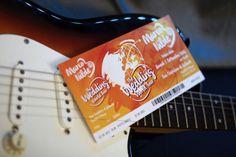 Marco e Nilde wedding concert ticket - carta favini majestic #favini #majestic #wedding #design #stationery