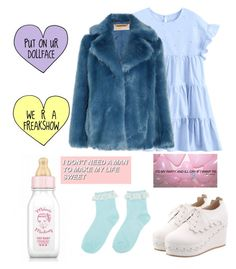 """""""I accept your challenge😂"""" by pepperminttea21 ❤ liked on Polyvore featuring Hot Topic and MICHAEL Michael Kors"""