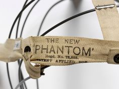 The New Phantom (Bustle) | V T.131C-1919  Note the method of attaching the tape to the wire!